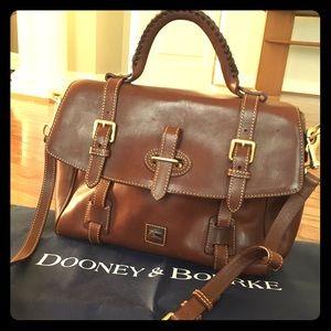 Dooney & Bourke Women's Chestnut Brown Pocketbook